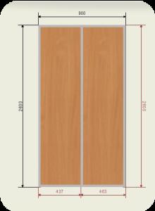 900 двери ЛДСП