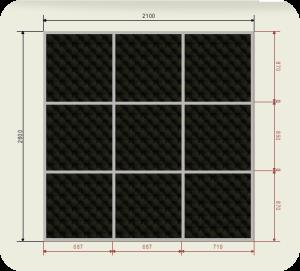 Цены на встроенный шкаф купе шириной 2100 мм двери кожа